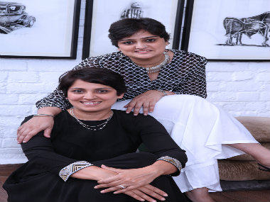 Manisha (top) and Ayesha Desai, co-founders