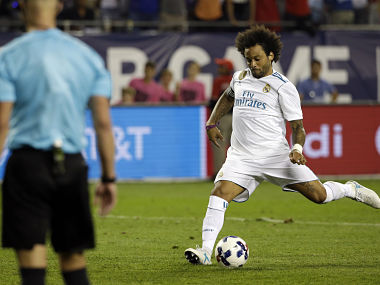 File image of Real Madrid's Marcelo. AP