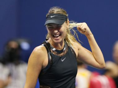 Maria Sharapova defeated Simona Halep in first round at US Open. Reuters