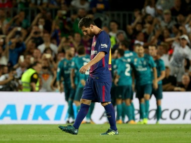 Real Madrid thwarted Barcelona away in the last ten minutes of the game. Reuters