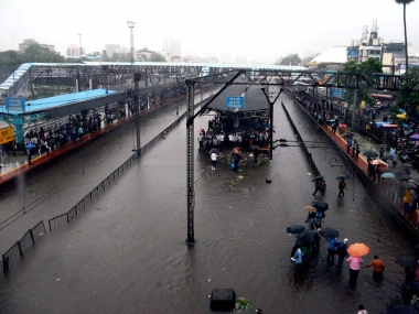 The monsoons drag India's financial capital to a standstill. PTI