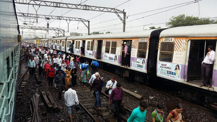 Commuters heading for home. Firstpost