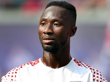 Naby Keita will join Liverpool on 1 July, 2018. Image Courtesy: Twitter @LFC