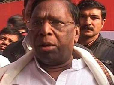 File image of V Narayanasamy. News18