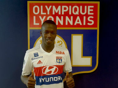 Pape Diop was signed by Lyon in a deal reported to be worth €10 million. Twitter/@OL