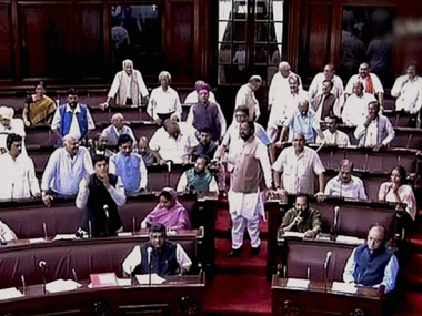 File image of the Rajya Sabha. PTI