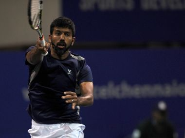 Rohan Bopanna's name was not added to the Arjuna Awardees list despite winning the French Open this season. AFP