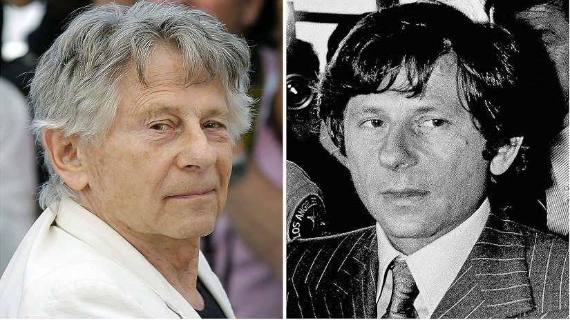 """FILE - This combination of photo shows director Roman Polanski at the photo call for the film, """"Based On A True Story,"""" at the 70th international film festival, Cannes, southern France, on May 27, 2017, left, and Polanski at a Santa Monica, Calif., courthouse on Aug. 8, 1977. A Los Angeles judge has denied the impassioned plea of Roman Polanski's victim to end the criminal case against the fugitive director. Judge Scott Gordon ruled Friday, Aug. 18, 2017. Polanski must appear in Superior Court if he expects to have his four-decade-old case resolved. Gordon's ruling follows a fervent request by Polanski victim Samantha Geimer to end a """"40-year sentence"""" she says was imposed on perpetrator and victim. Polanski pleaded guilty to sexually assaulting Geimer when she was 13. (AP Photo/Files)"""
