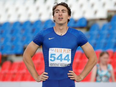 Sergey Shubenkov is one of the Russian athletes who will be competing as a neutral. Reuters