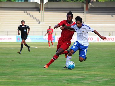 St Kitts held Mauritius to a 1-1 draw on Tuesday. Image courtesy: AIFF