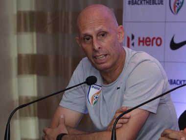 File image of Indian football coach Stephen Constantine. Image courtesy: Twitter @IndianFootball