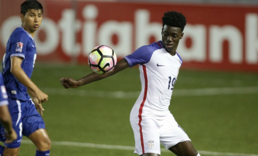 Timothy Weah, son of the great George Weah, will be one of the stars in the upcoming tournament in India. Credit: US Soccer