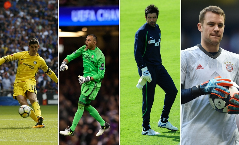 Being a third-choice keeper ensures that you will get virtually no game-time. AFP