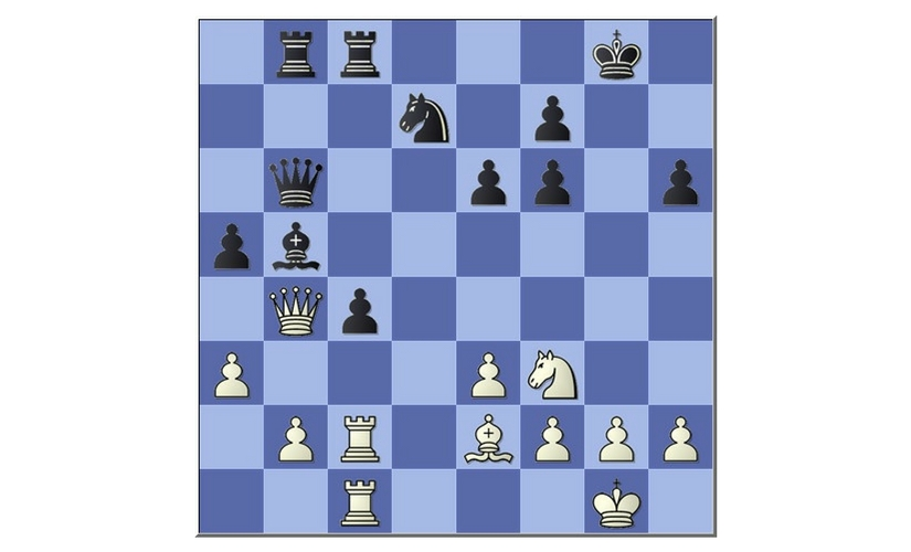Wesley So - Viswanathan Anand, Sinquefield Cup (9th Round) (Position after Black's move 20...a5)