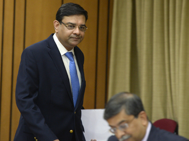 File image of RBI Governor Urjit Patel. AFP