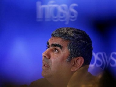 A file image of former CEO of Infosys Vishal Sikka. Reuters