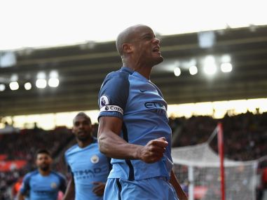 File image of Vincent Kompany. Getty Images