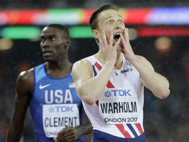 IAAF World Athletics Championships 2017: Karsten Warholm, Phyllis Francis stun favourites to ...