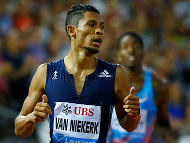 File picture of Wayde van Niekerk. Reuters