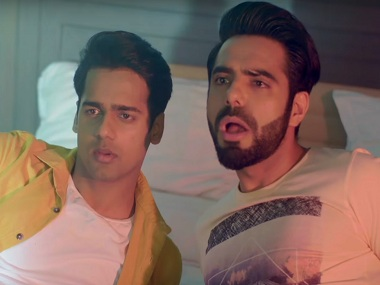 Gaurav Pandey and Aparshakti Khurana in Voot Original's Yo Ke Hua Bro. Screen grab from YouTube.