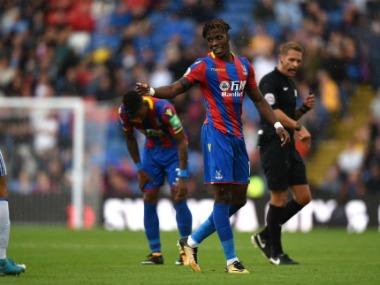 Wilfried Zaha was named player of the year last season for Crystal Palace.Image Courtesy: Twitter @wilfriedzaha