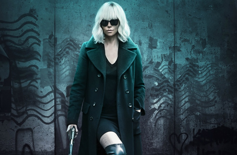 Charlize Theron in Atomic Blonde. Image via Twitter