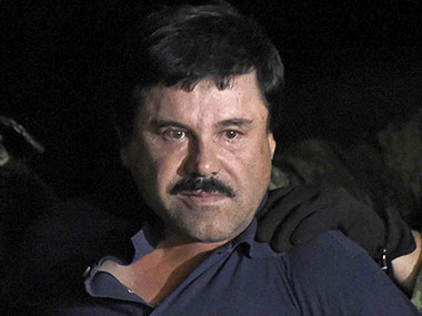 File image of El Chapo. AFP