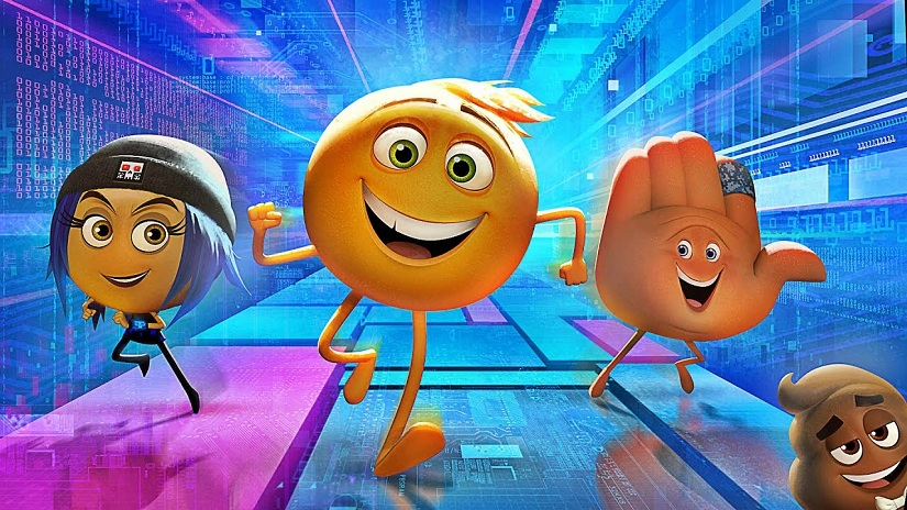 Still from The Emoji Movie. YouTube screengrab