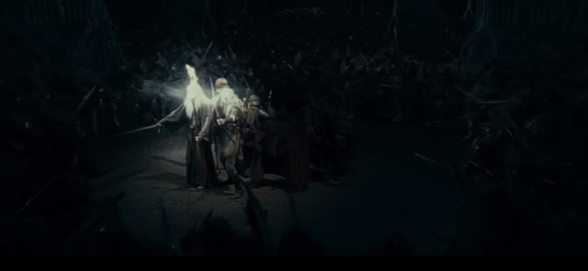 Not that enemy, not that Fellowship