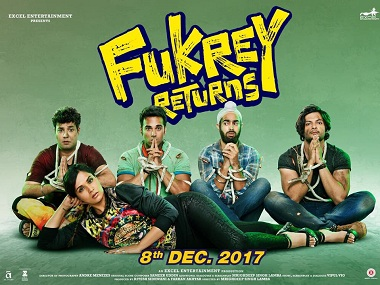 Poster of Fukrey 2. Image from Twitter.