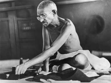 File image of Mahatma Gandhi. GettyImages