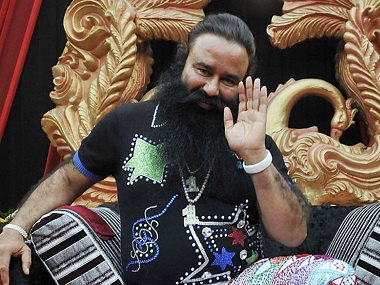 File image of Gurmeet Ram Rahim Singh. Getty images