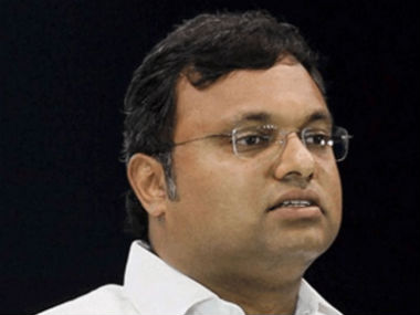 File image of Karti Chidambaram. News 18
