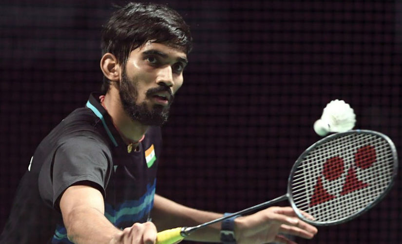 File image of Kidambi Srikanth in action.