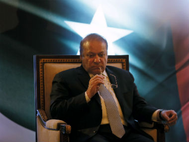 File image of former Pakistan prime minister Nawaz Sharif. Reuters