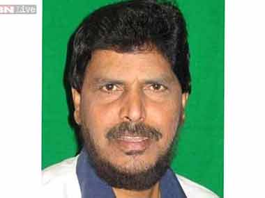 File image of Ramdas Athawale. IBN live