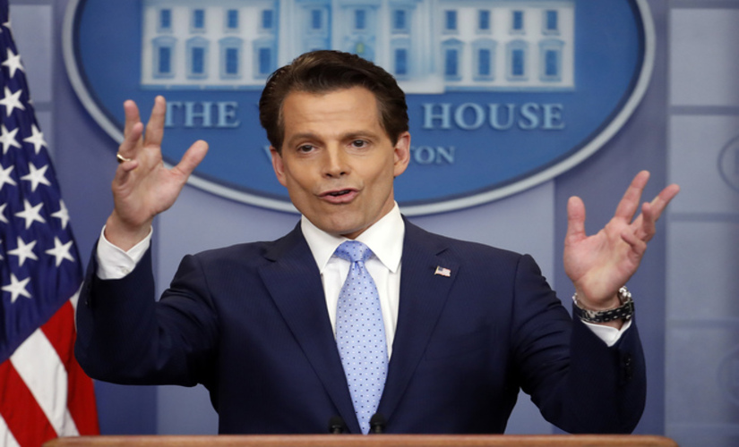 Anthony Scaramucci is out as White House communications director after just 11 days on the job/ Reuters