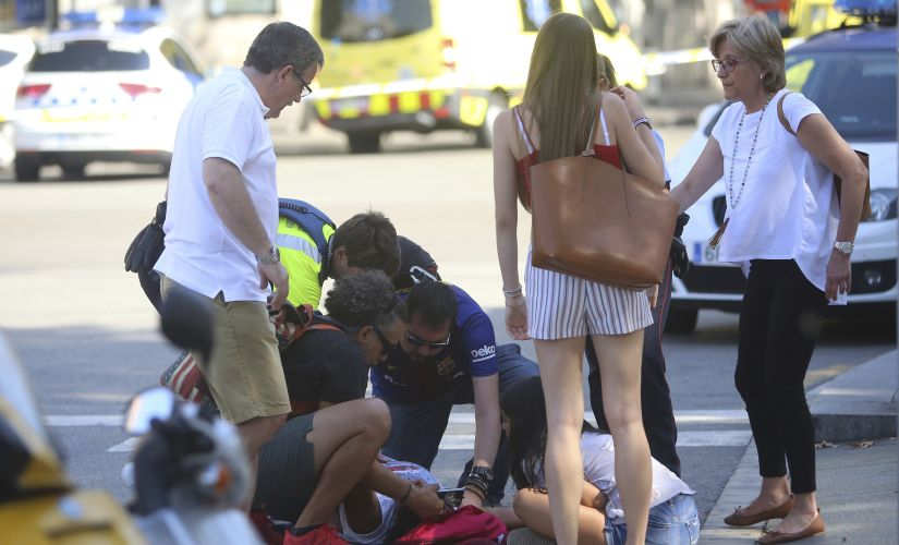 13 people were killed in Barcelona terror attack. AP