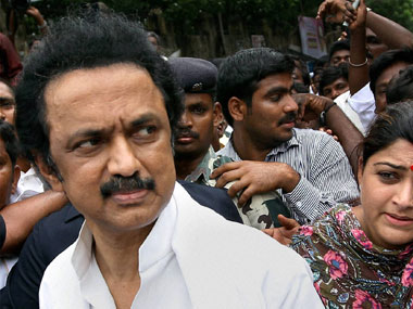 File image of DMK's MK Stalin. PTI
