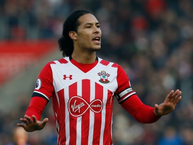 Virgil van Dijk will miss season opener due to sickness for Southampton. Reuters
