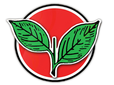 File image of the two leaves symbol. Image Courtesy@ electadmk.com