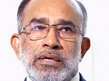 File image of KJ Alphons. PTI