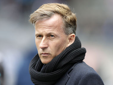 File image of Andries Jonker who has been dismissed as Wolfsburg's head coach on Monday. AP
