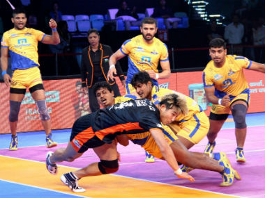 Tamil Thalaivas stunned Bengal Warriors in their last outing. Image credit: Facebook page of Pro Kabaddi