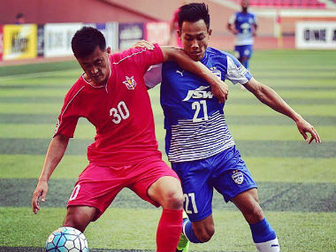 Udanta Singh in action against April 25 SC of North Korea. Twitter: @bengalurufc