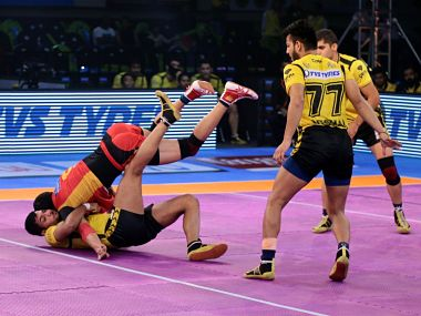 Pro Kabaddi League expanded from a 4-week event to a 12-week slugfest. Image courtesy: Twitter @ProKabaddi