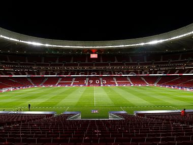 Atletico Madrid have moved into the 68,000-capacity Wanda Metropolitano which cost €310 million from the Vicente Calderon. Image courtesy: Twitter @Atleti