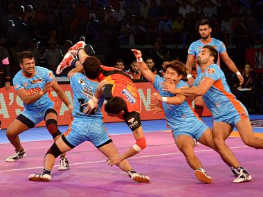 Bengal Warriors beat Bengaluru Bull in their last match.Twitter @ProKabaddi
