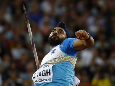 File image of Davinder Singh of India. Reuters