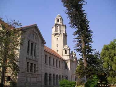 Indian Institute of Science in Bengaluru. Image courtesy: Wikimedia commons